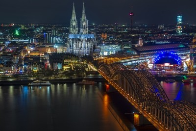 View Over Cologne