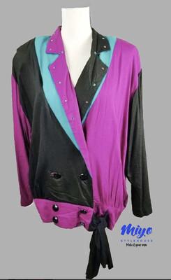 80's blouse - M