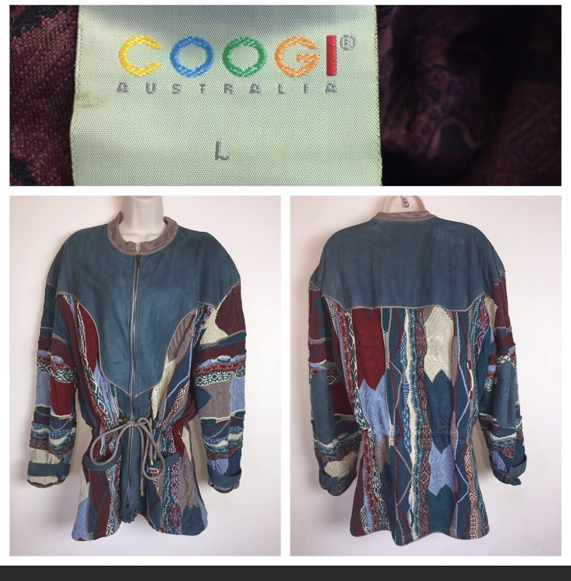 Blue COOGI Coat L