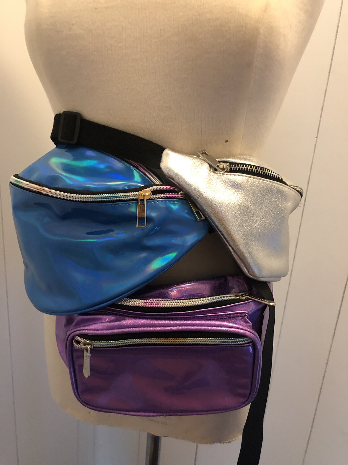 Iridescent Fanny Packs