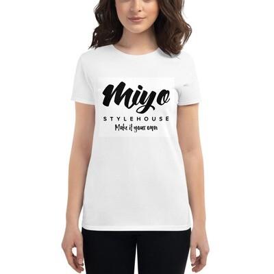 Branded Women's short sleeve t-shirt