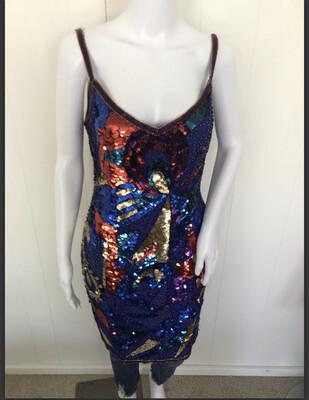 Super sequin dress XS/S