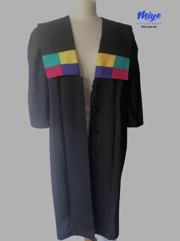 Color Block Dress/Duster - XL