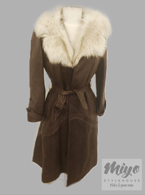 Lambskin Beauty Coat - S/M
