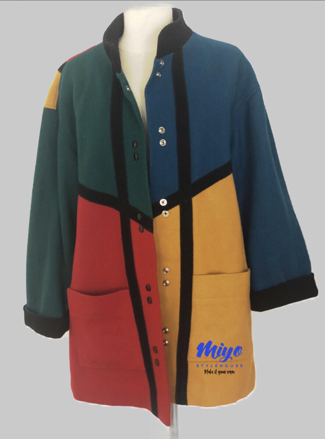 ColorPop Coat 1 1X/2X