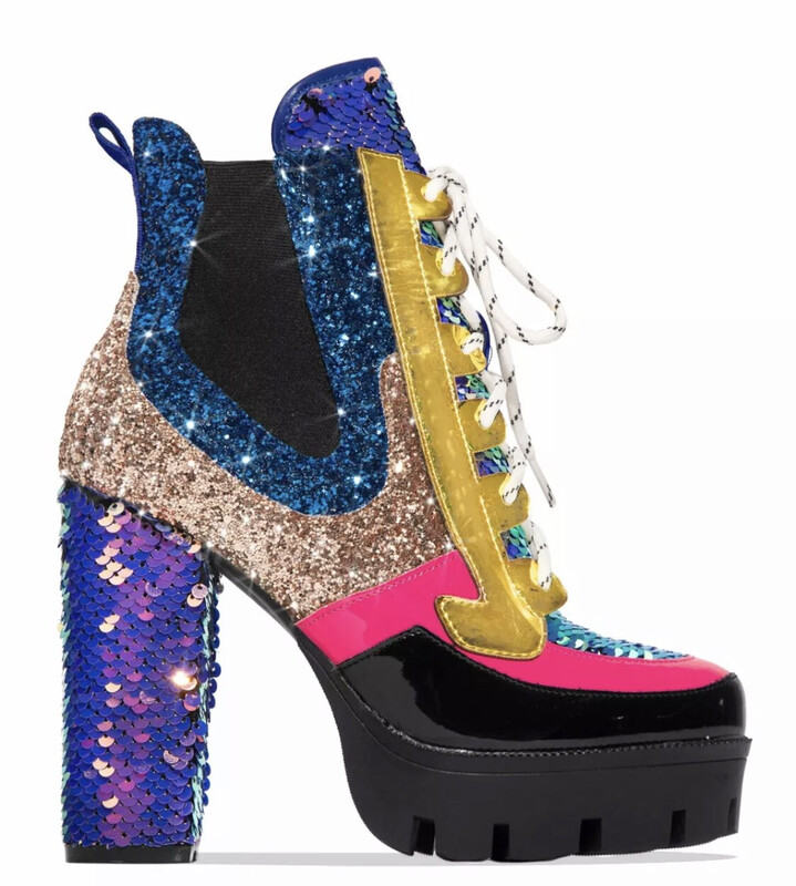 Unicorn Mermaid Goddess Boot