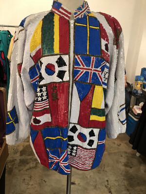 World Tour Jacket - Vintage 96 Olympics - size XL