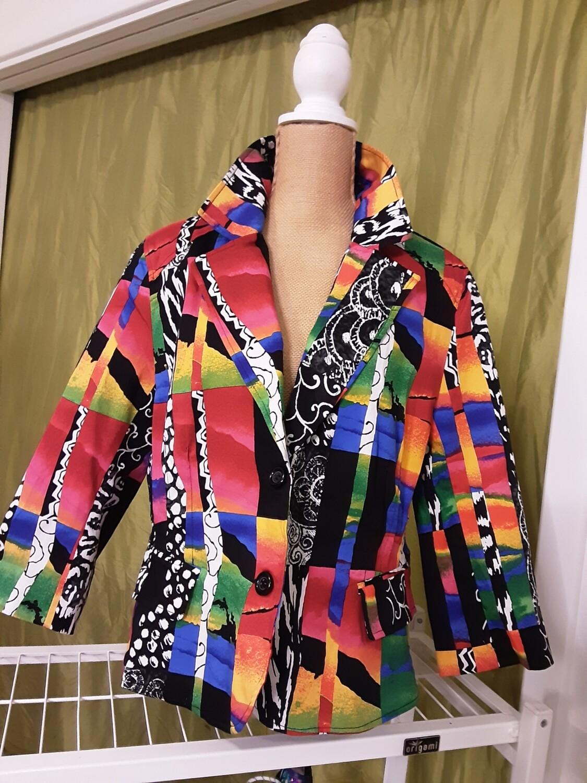 Multicolor Blazer - XL