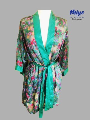 Vintage Victoria Secrets Sheer Robe - OS