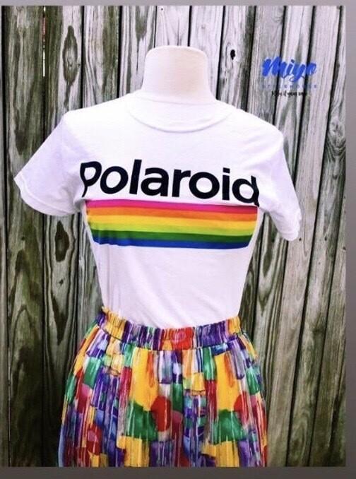 Polaroid T-shirt - S/M