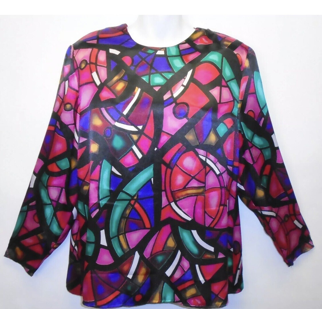 Stained Glass Window Blouse - M/L
