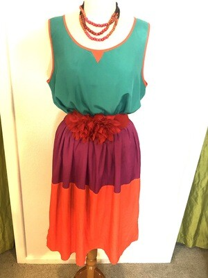 Tiered Stacks Dress - XL