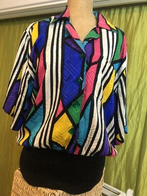 Oh Adrianna Vintage Blouse - M