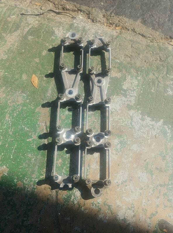 oem Rb coil pack brackets front and rear (used)