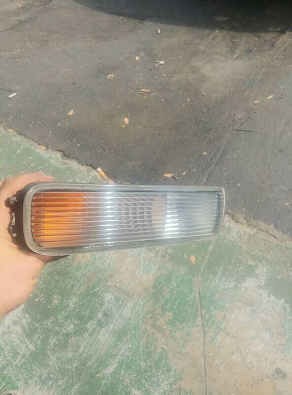 r33 gts25t fog light passenger side (used)