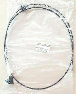GENUINE NISSAN SKYLINE R32 HOOD RELEASE CABLE ASSMEBLY 65620-01U10