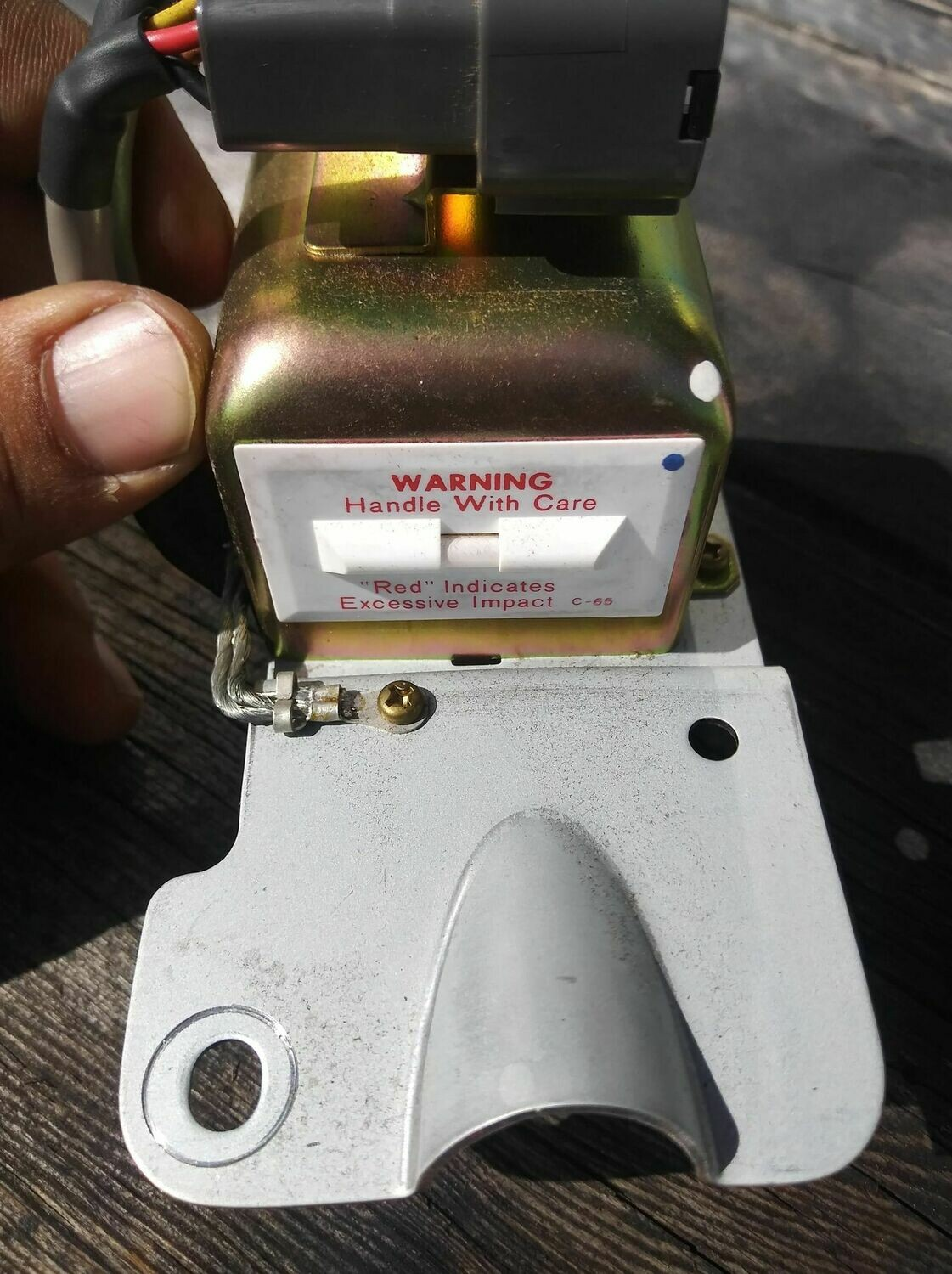 Used, excellent condition OEM R32 GTS-4/GTR G-Sensor