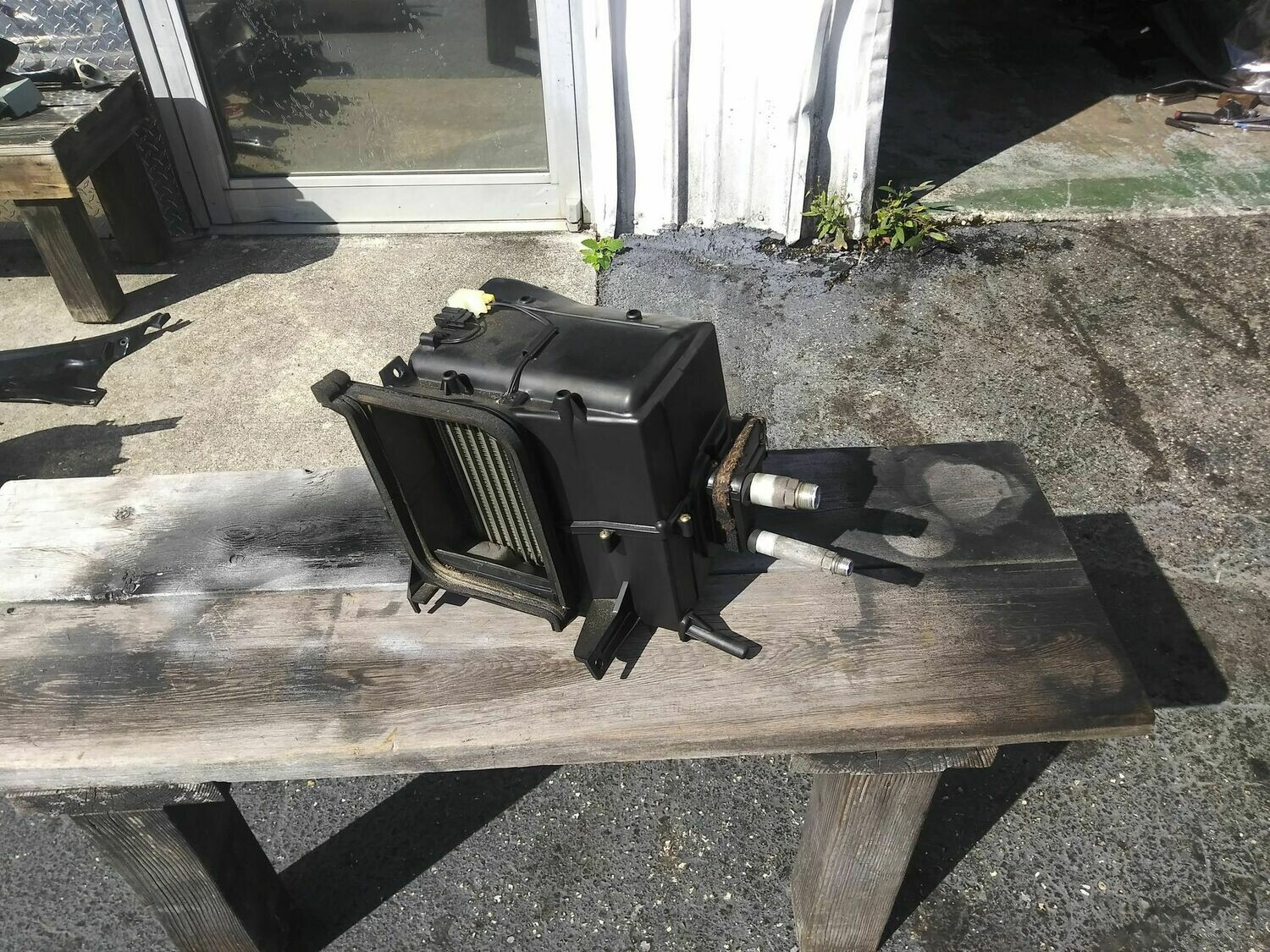 R32 early Fan and Evaporator assy.