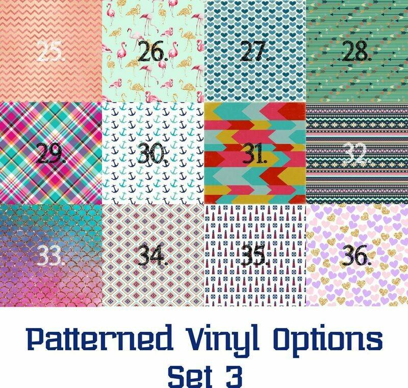 Patterned Vinyl