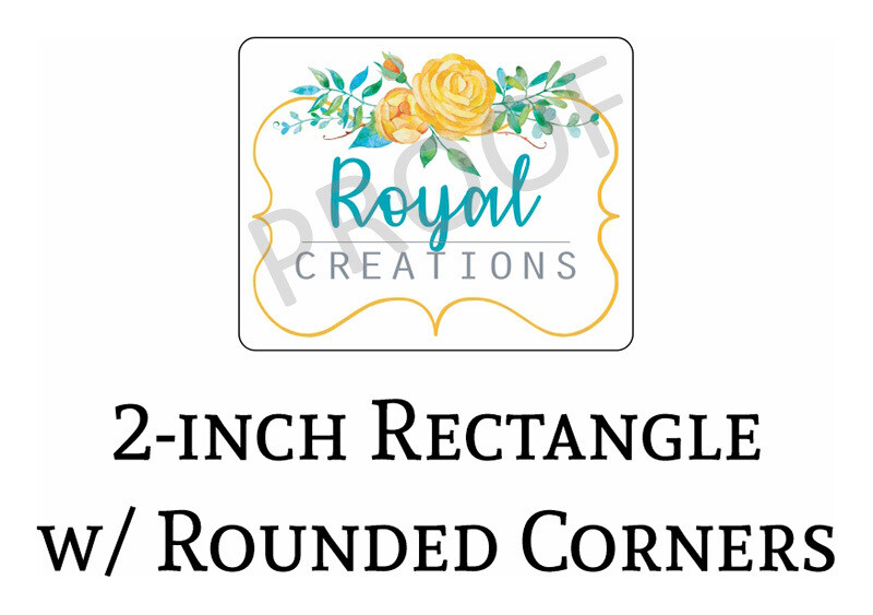 Royal Creations 2-in Logo Decals