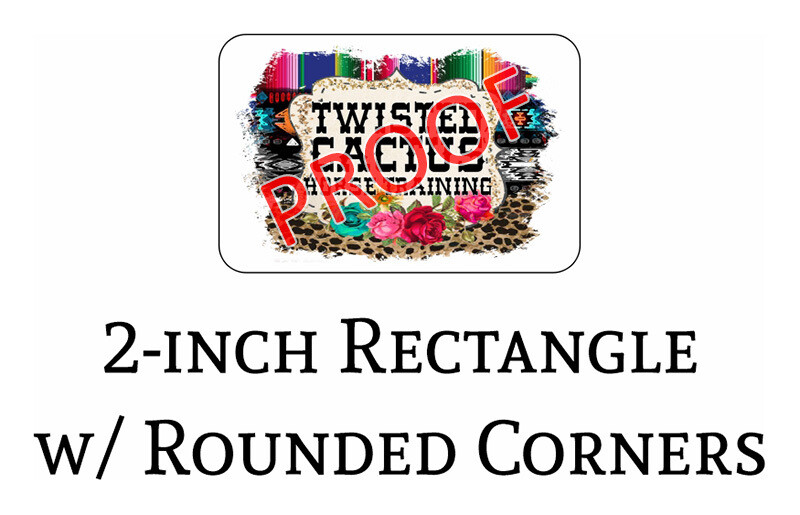Twisted Cactus 2-in Logo Decals