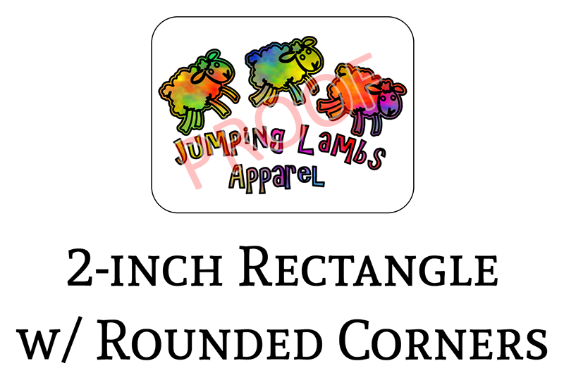 Jumping Lambs Apparel 2-in Logo Decals