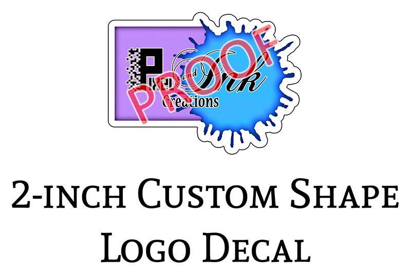 Pixel Ink Creations 2-in Logo Decals