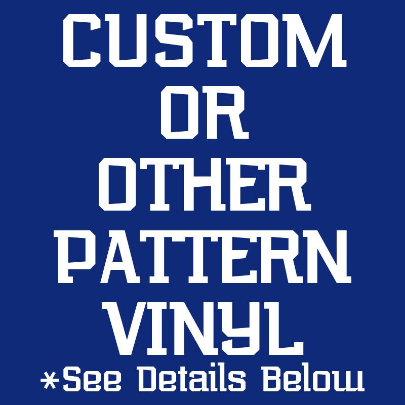 Custom Printed Pattern Vinyl