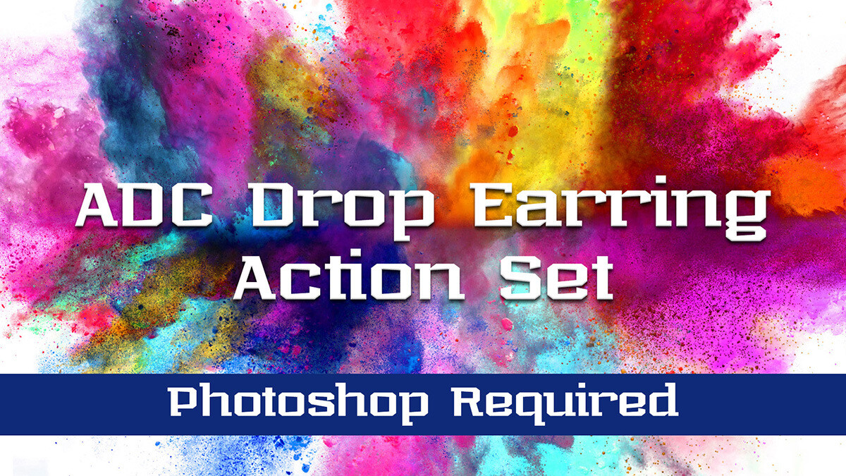 ADC Drop Earring Action Set