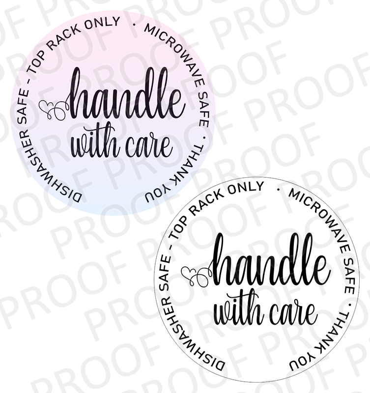 Handle With Care - 2.5 inch