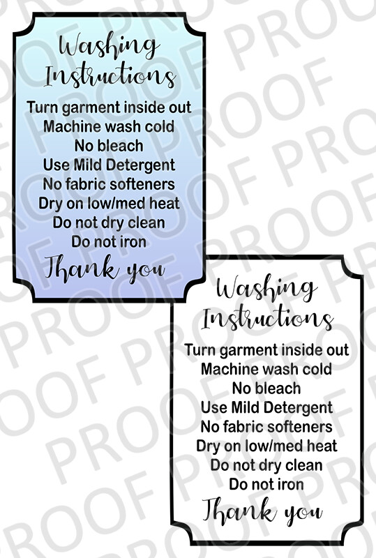 Garment Care - 3 inch