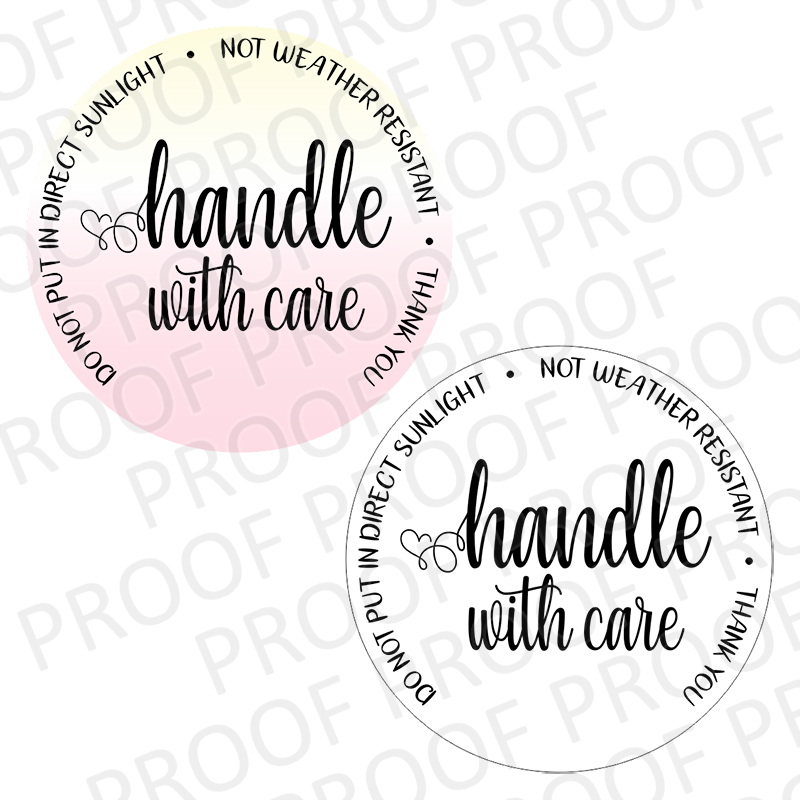 Handle With Care - 2 inch