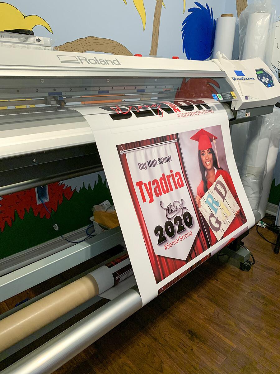 Yard Sign Print Service