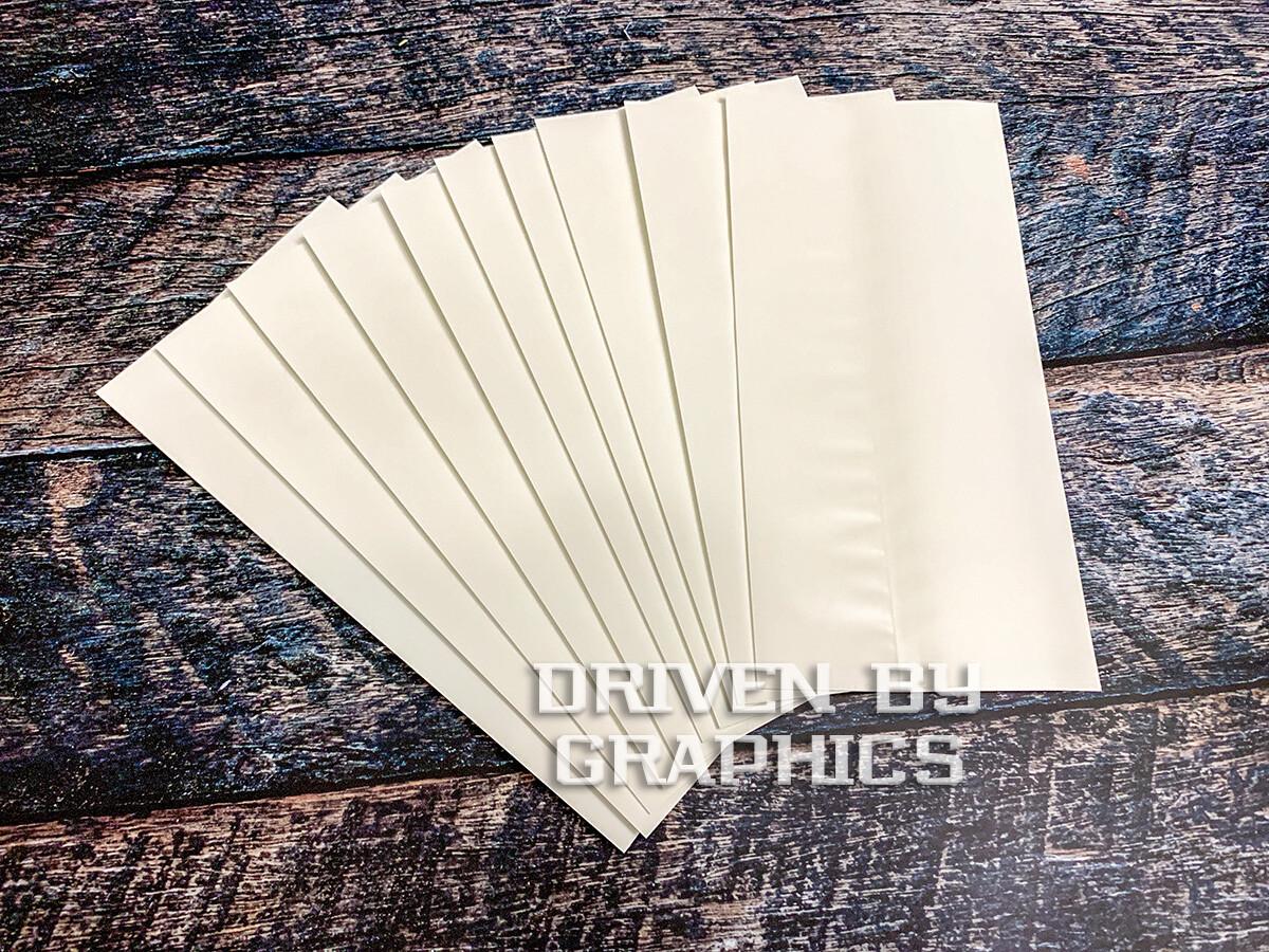Heat Shrink Wrap - WHITE, 10pk