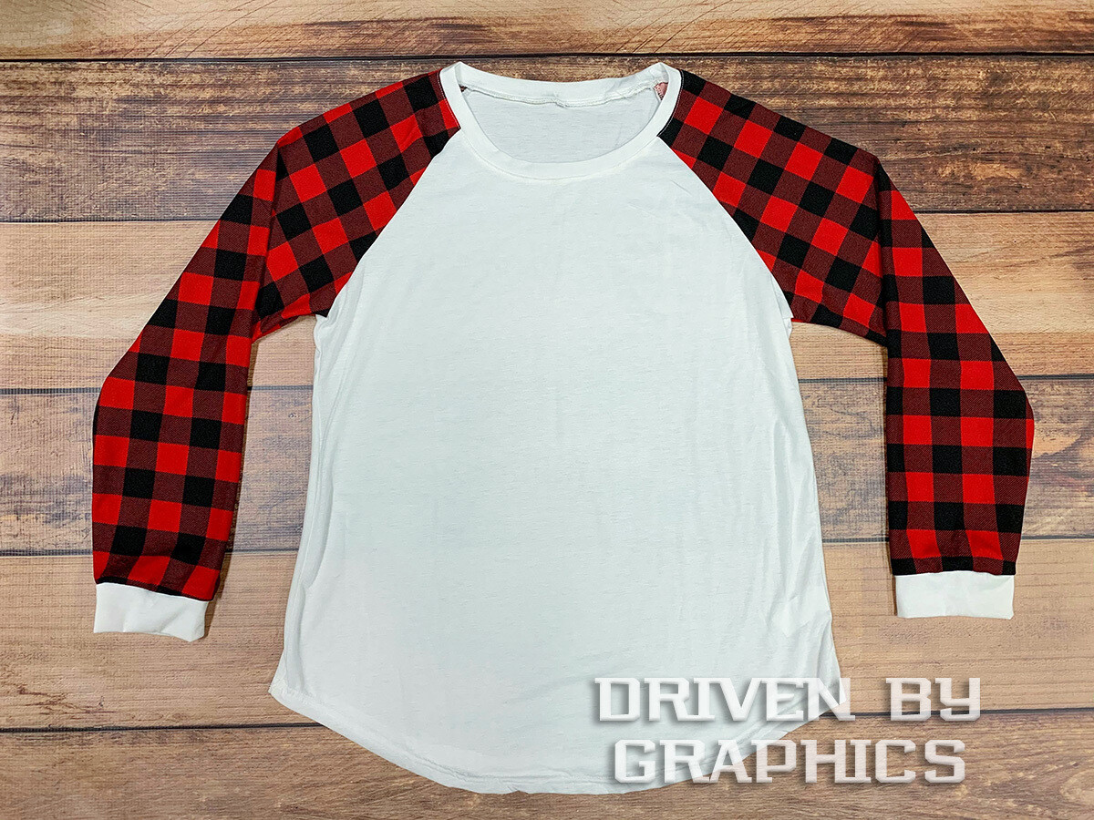Red & Black Buffalo Plaid Long Sleeve Shirt