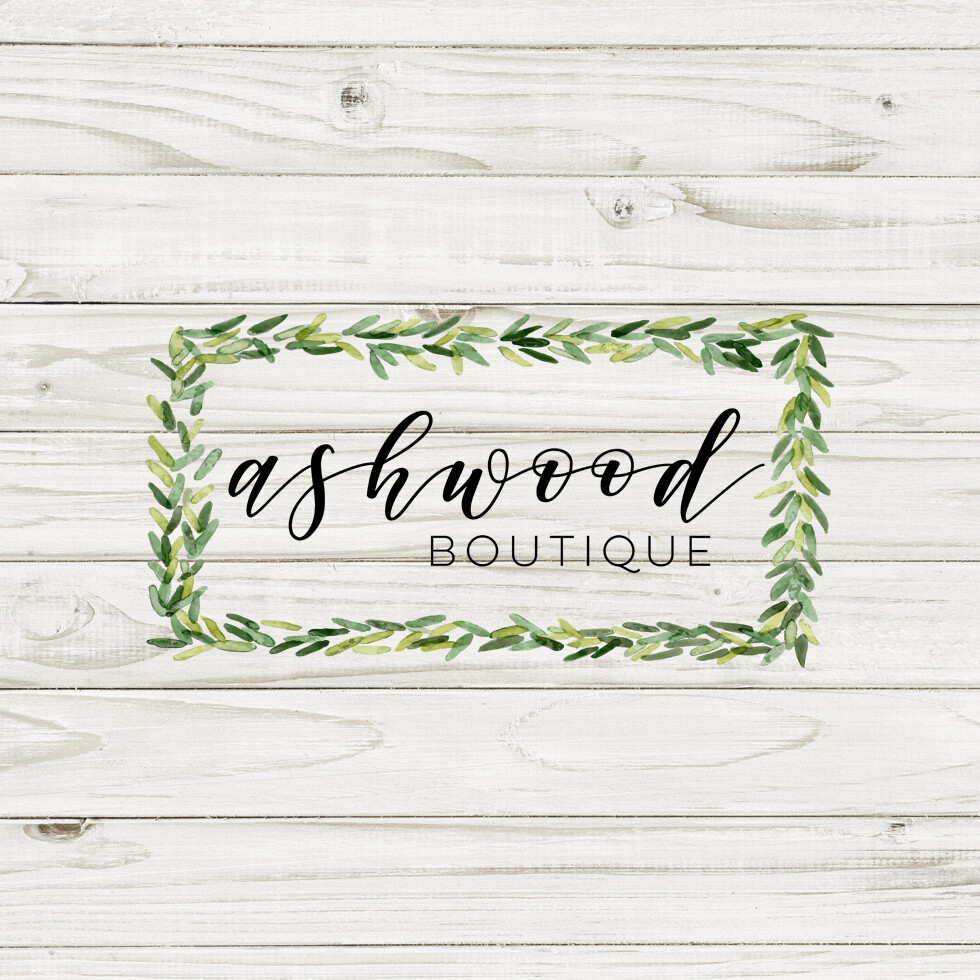 Ashwood Boutique 2-in Logo Decals