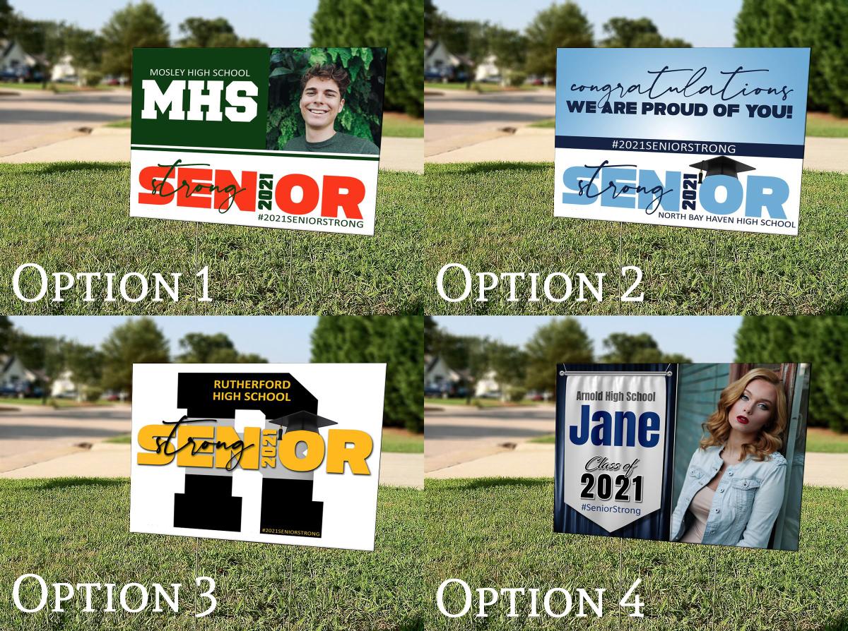 Graduation Yard Signs (SET OF 10)
