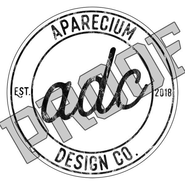 Aparecium Design Co 2-in Logo Decals