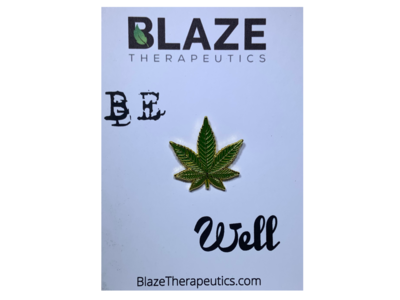Be Well Cannabis Pin