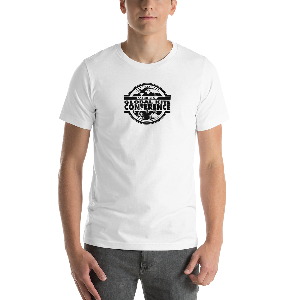 We Fly Global Kite Conference Mens & Unisex T-shirt