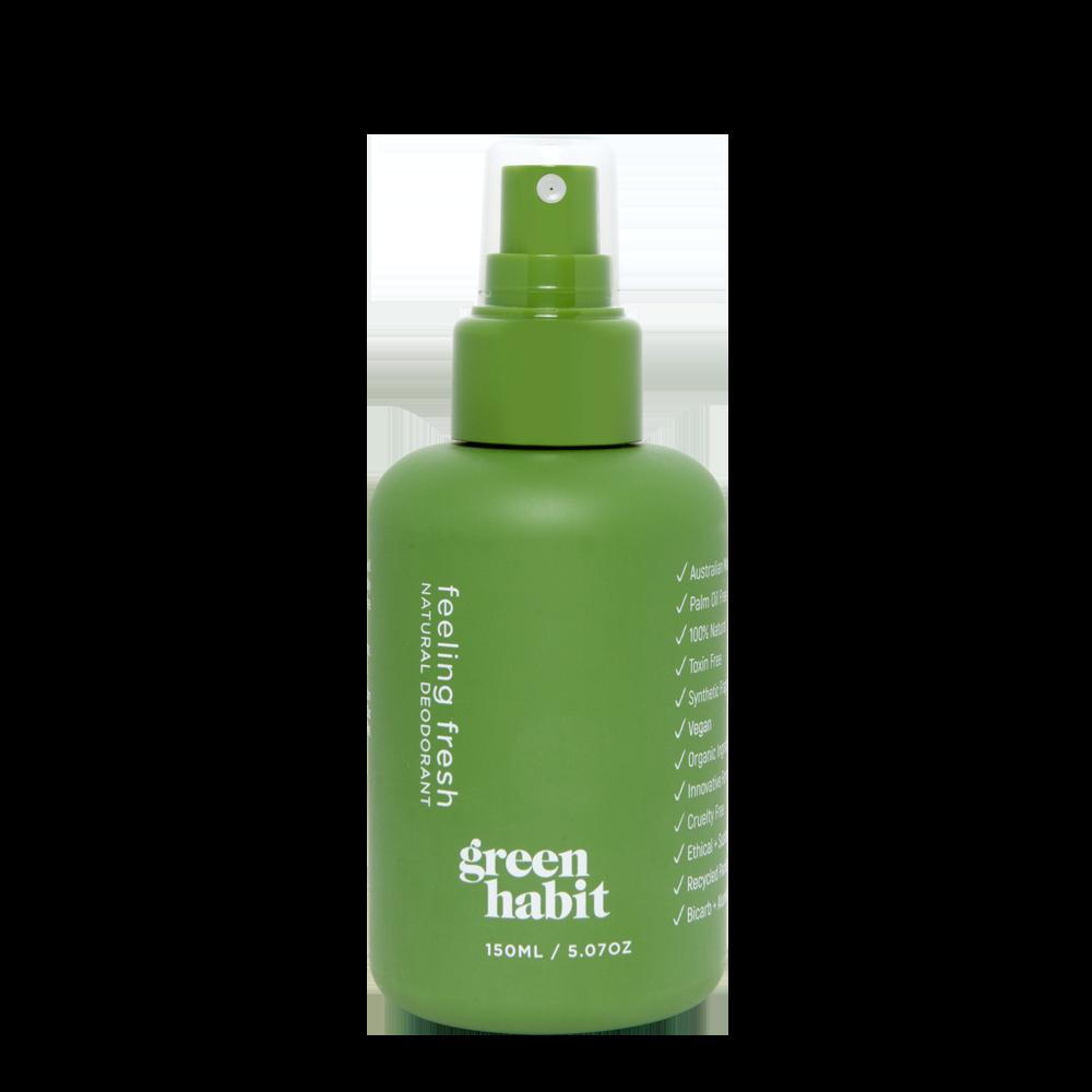 Green Habit Natural Deodorant Spray