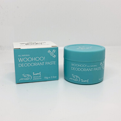 Woohoo All Natural Deodorant Paste - Surf 70g