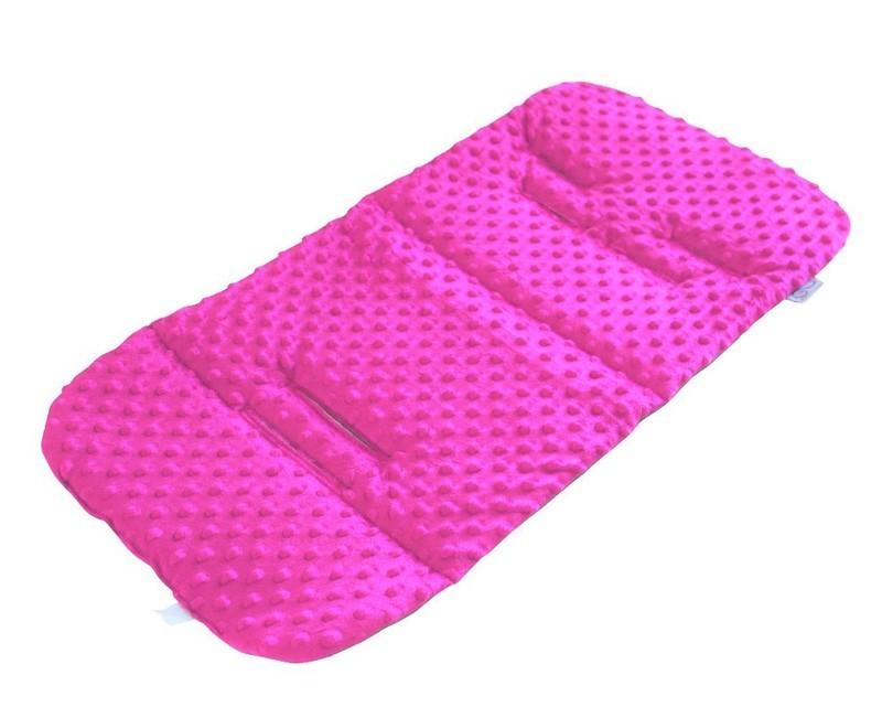 Pram Liner - Minky Pink