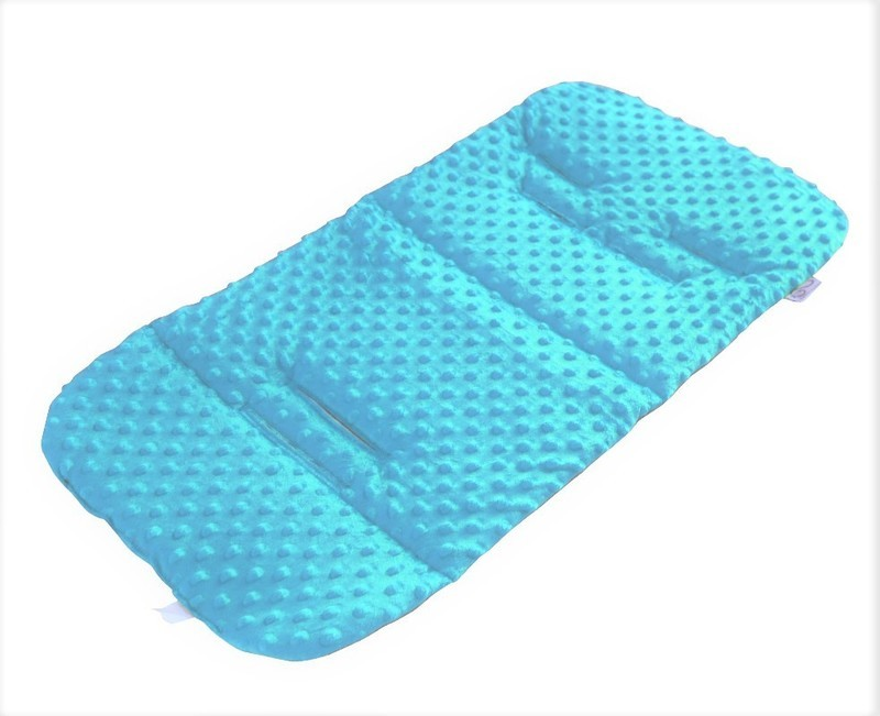 Pram Liner - Minky Blue