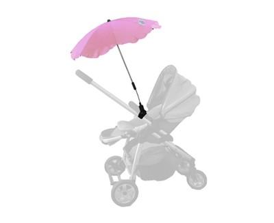 Baby Brolly Pram Parasol - Pink