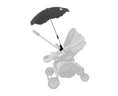 Baby Brolly Pram Parasol - Black