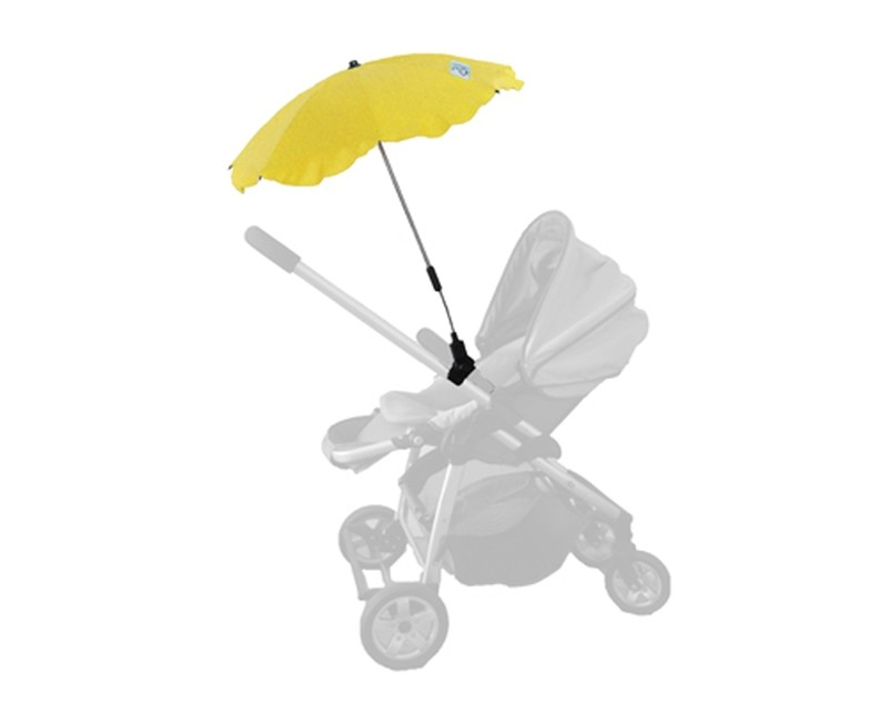 Baby Brolly Pram Parasol - Yellow