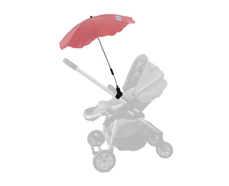 Baby Brolly Pram Parasol - Red