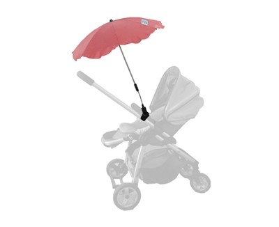 Baby Brolly Pram Parasol - Red