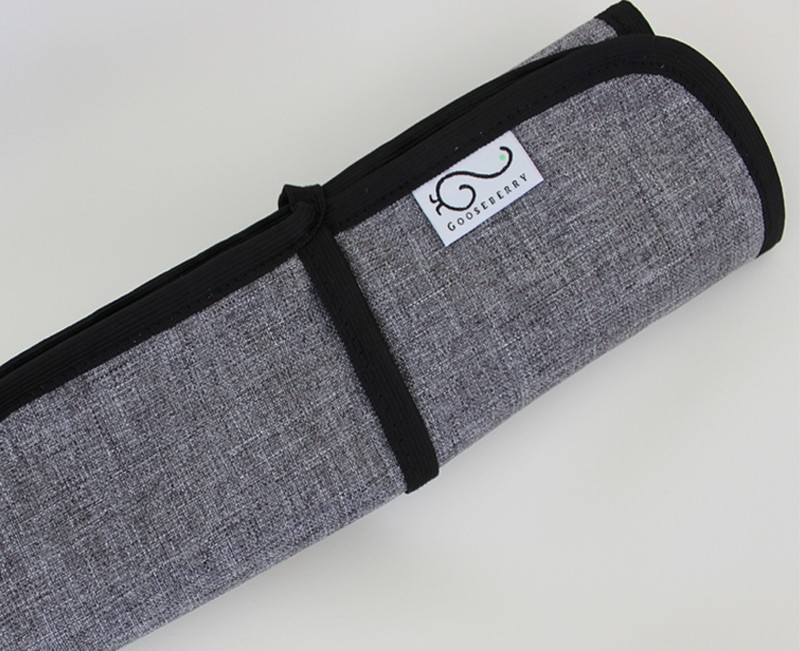 Travel Change Mat - Grey Melange